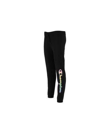Dekliške dolge hlače na patent Champion 404130 - črne