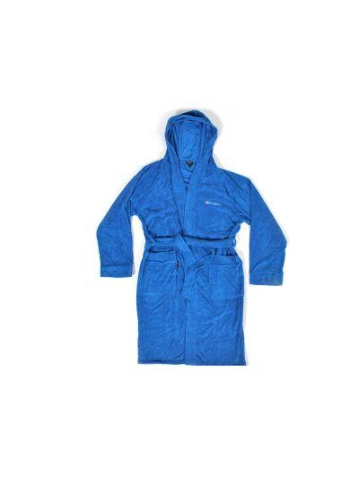 Ženski kopalni plašč s torbo Champion 802996 modri RBL