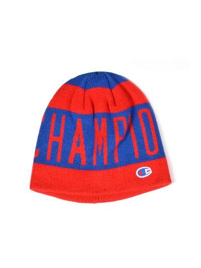 Zimska kapa Champion 803760 rdeča/modra CRD/BVU