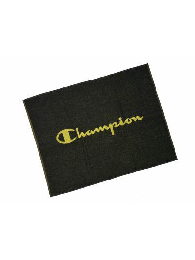 Brisača večja za na plažo Champion® 804128 črna-rumena NBK 85x110cm