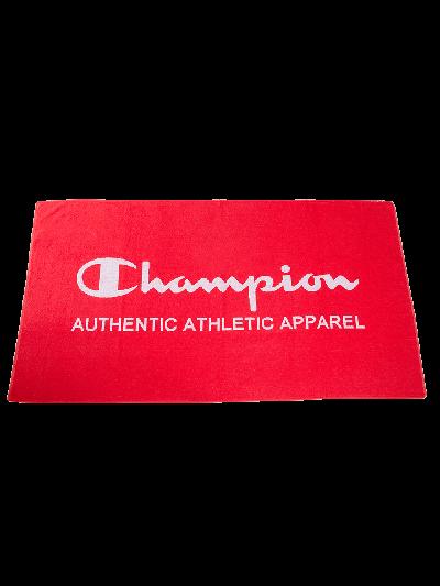 Velika brisača za na plažo Champion® 804491- rdeča