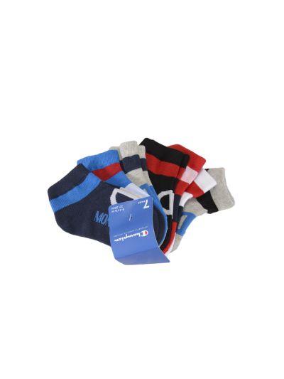 Otroške nogavice Champion® 804582 7 parov - modra
