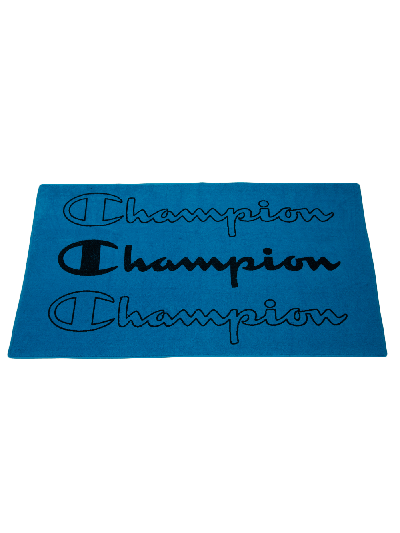 Velika brisača za na plažo Champion® 804856 - modra