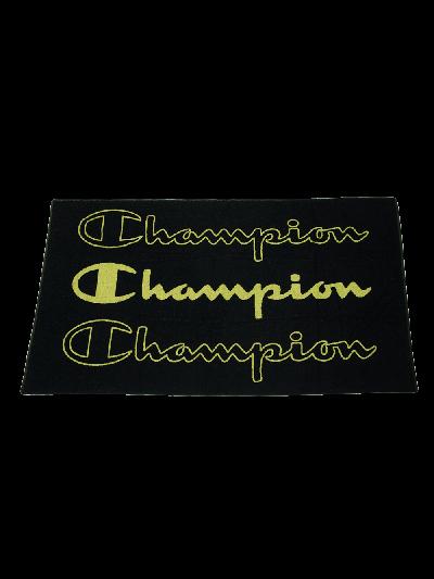 Velika brisača za na plažo Champion® 804856 - črna/zelena
