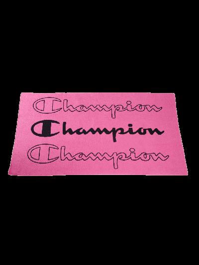 Brisača za na plažo Champion® 804856 - roza/črna
