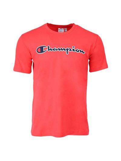 Moška majica kratek rokav Champion ® ROCHESTER CHANGE Organic 216473 - rdeča