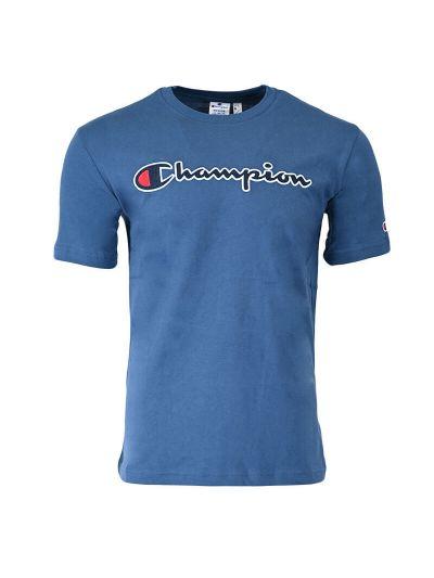Moška majica kratek rokav Champion ® ROCHESTER CHANGE Organic 216473 - modra
