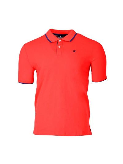 Moška polo majica s kratkimi rokavi Champion® 214398 - rdeča / modra