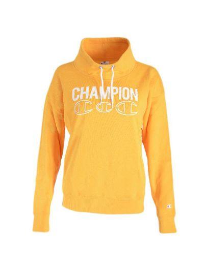 Ženski pulover Champion® C111930 - pol puli - rumena