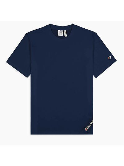 Moška majica Champion ® Rochester CHANGE ASYMÉTRIQUE - modra