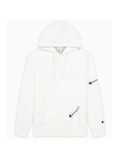 Moški pulover s kapuco Champion ® Rochester CHANGE 216549 - bel