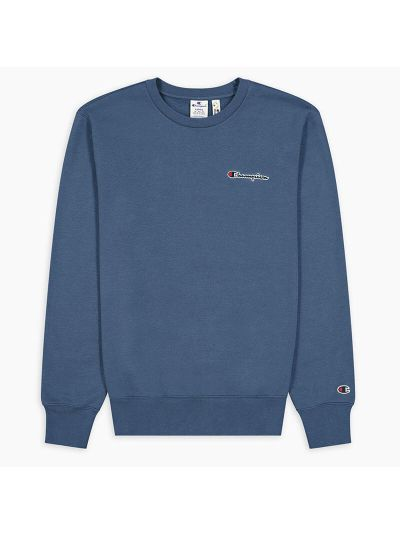 Moški pulover Champion ® Rochester CHANGE 216476 - temno moder