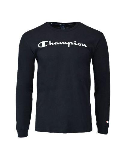 Moška majica z dolgimi rokavi Champion® 214748 - črna