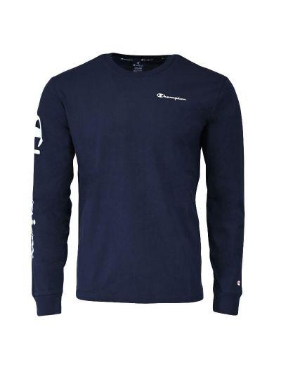 Moška majica z dolgimi rokavi Champion® 215262 - navy