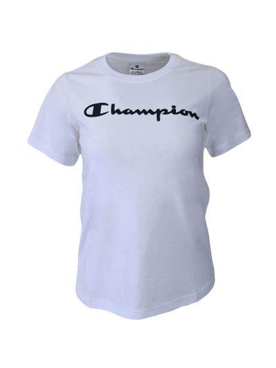 Dekliška športna majica s kratkimi rokavi Champion® 403927 - bela