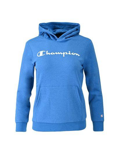 Otroški pulover s kapuco Champion 305358 - moder