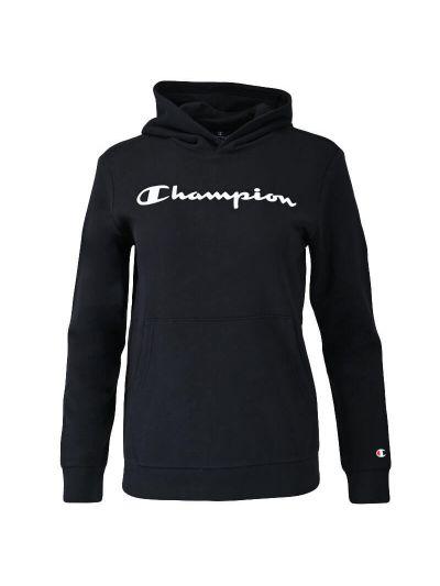 Otroški pulover s kapuco Champion 305358 - črn