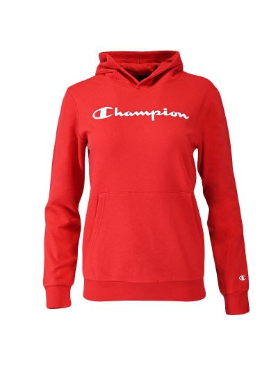 Otroški pulover s kapuco Champion ® 305358 - rdeč