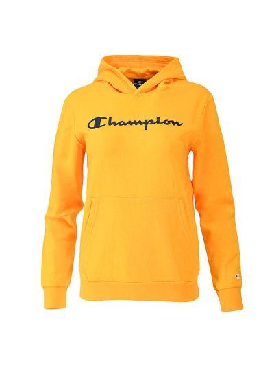 Otroški pulover s kapuco Champion 305358 - rumen