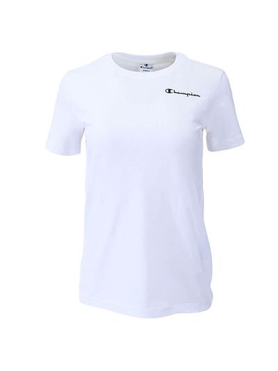 Ženska majica kratek rokav Champion 113225 - bela