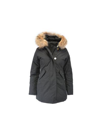 Ženska jakna Champion® C110958 s kapuco črna NBK