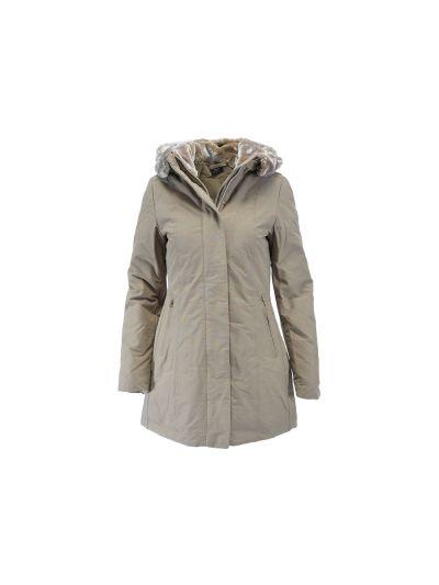 Ženska jakna Champion® C110957 s kapuco - olivna zelena