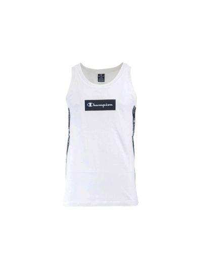 Moška majica Champion® brez rokavov bela