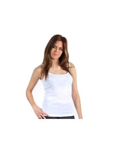 Ženska majica brez rokavov Champion® C107848 bela WHT
