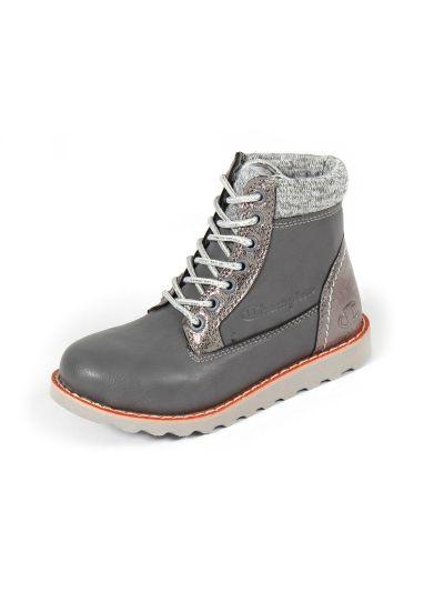 Otroški zimski čevlji Champion® S30741 UPST sivi GRY