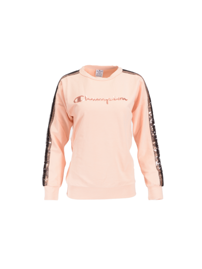 Ženski pulover Champion® 111369 Go Pink - pastelno roza
