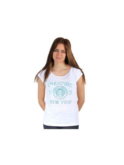 Ženska majica brez rokavov Champion® C108120 - bela WHT