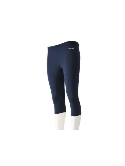 Ženske hlače Capri Champion® 110932 elastične oprijete navy NNY