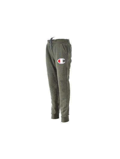 Otroške hlače Champion® 304831 slim na patent - olivne
