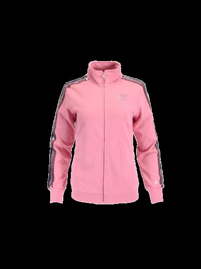 Ženska jopa Champion® z zadrgo - roza