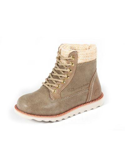 Otroški zimski čevlji Champion® S30741 UPST temno rjavi OFW