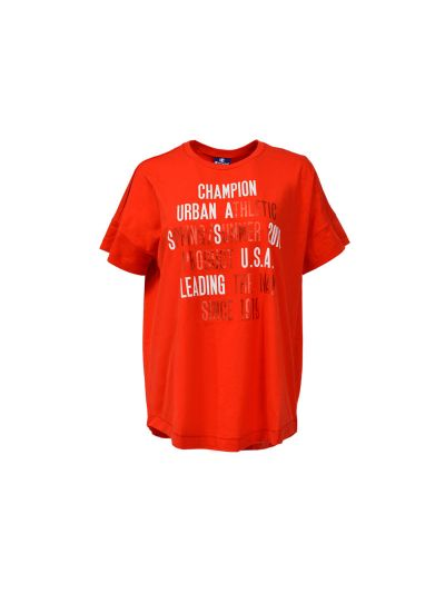 Ženska T-Shirt majica Champion® 110126 kratek rokav Maxi Urban rdeča