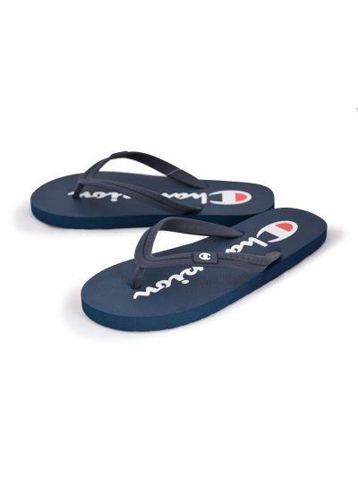 Moški / otroški sandali na prst - japonke Champion® -S20604- navy NNY