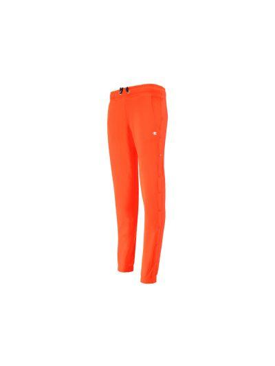 Ženske dolge hlače Champion® 111344 z gumbi po celi dolžini Action oranžno-rdeče