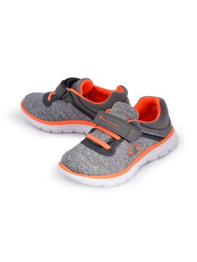 Otroška obutev za prosti čas Champion® S31278 SOFTY fluo-oranžna/siva DOG 28-35