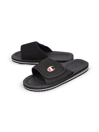 Moški / otroški sandali - natikači Champion® - S20598 - črni NBK