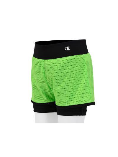 Dekliške športne kratke hlače Champion® 403359 - fluoroscentno-zelene
