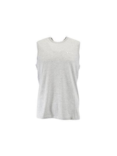 Moška majica z ovratnikom Champion® brez rokavov siva