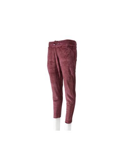 Ženske dolge hlače Champion® 110784 velur višnja BGW