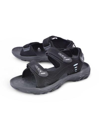 Moški platneni sandali Champion® - S20607 - EXTREM črni NBK