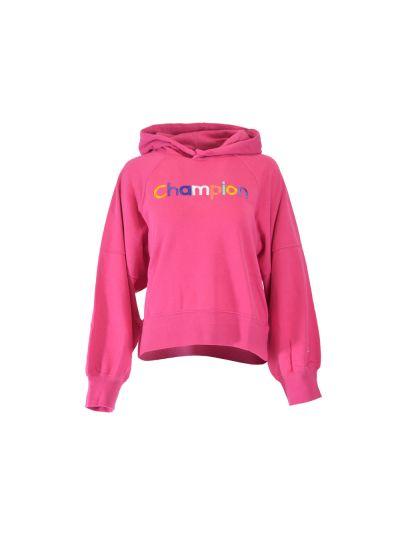 Ženski pulover Champion® 111278 s kapuco Rainbow cik VEB