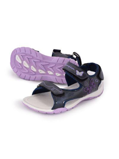 Otroški platneni sandali Champion® -S31257- SHINY nav/roNNY