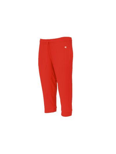 Ženske 3/4 hlače Champion® 111430 na patent - rdeče