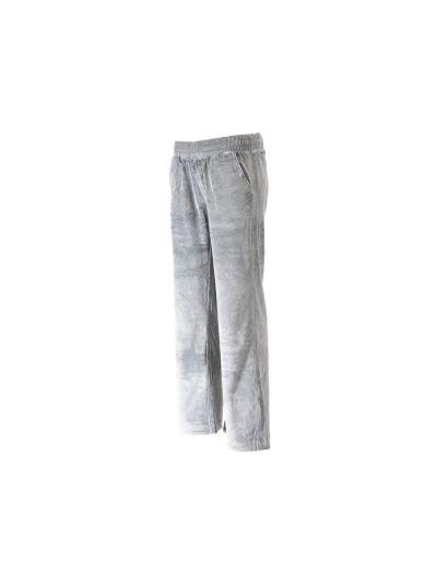 Ženske dolge hlače Champion® 110785 velur ravne - siva
