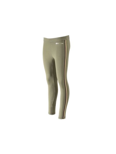 Ženske dolge hlače Champion® 110871 napis olivno zelene