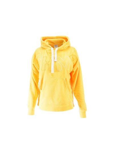 Ženski pulover Champion® 110807 s kapuco rumena Tag